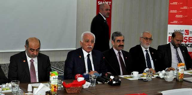Saadet Partisi Genel Başkanı Kamalak, Eskişehir'de