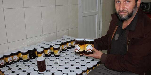 Seydişehir'de 55 ton bal üretildi