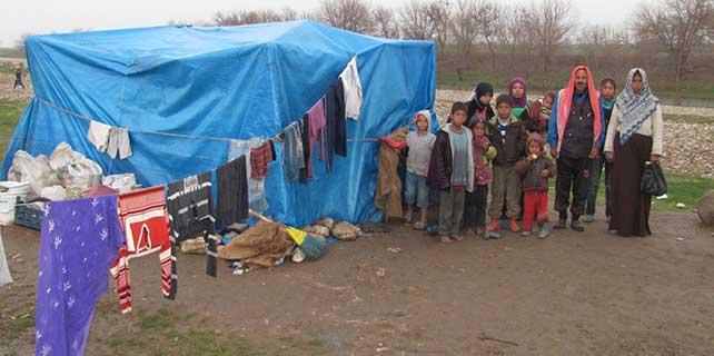Suriyeli aile yardım bekliyor