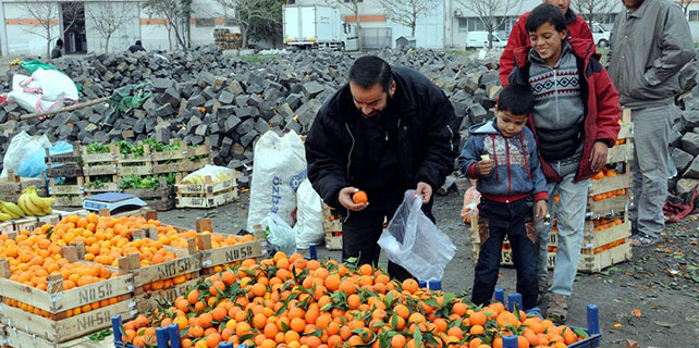 Suriyeli sığınmacıların geçim telaşı