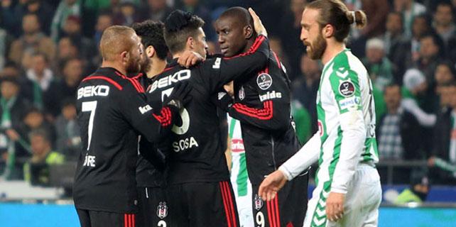 Torku Konyaspor 1 – 2 Beşiktaş