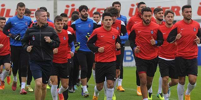 Trabzonspor'da 9 futbolcu sakat