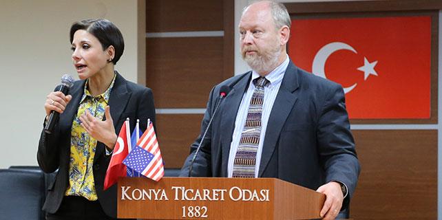 Türkiye-ABD İlişkileri ve İş Olanakları toplantısı