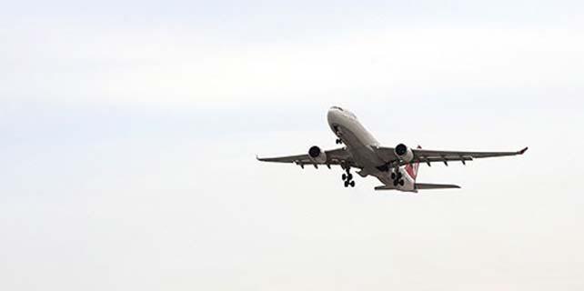 23 saniyede bir uçak seferi yapıldı