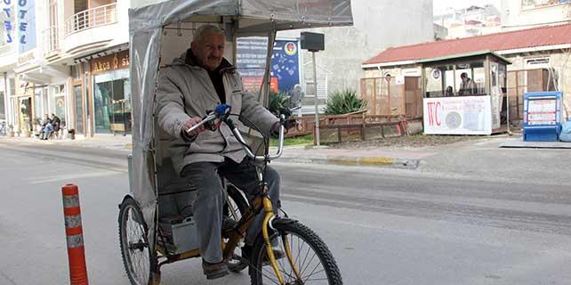 75 yaşındaki bisiklet sevdalısı