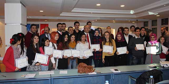 'Afyonkarahisar gençleri proje yazmayı öğreniyor' projesi