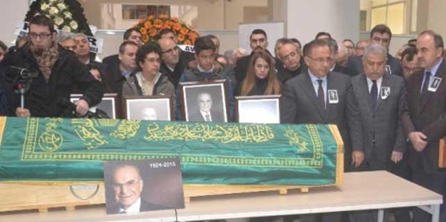 Ahmet Keleşoğlu'na anma töreni