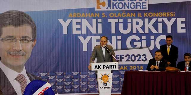 AK Parti Ardahan 5. Olağan İl Kongresi