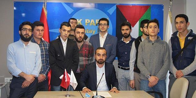 AK Parti Gençlik Kolları'ndan Gazzeli öğrencilere destek