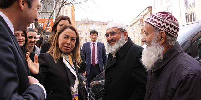 AK Parti Genel Başkan Yardımcısı Çalık