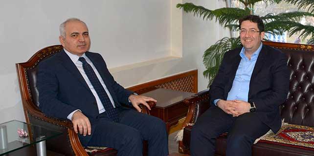 Aksaray Cumhuriyet Başsavcısı Aktaş'tan Yazgı'ya ziyaret