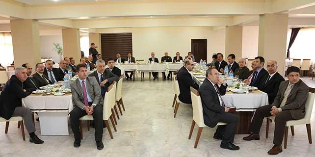 Aksaray'da 'Ortak Paylaşım ve Genel Değerlendirme' toplantısı