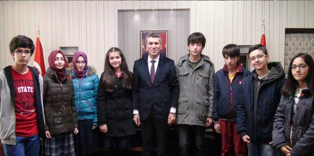Akşehir'de TEOG birincilerine altın