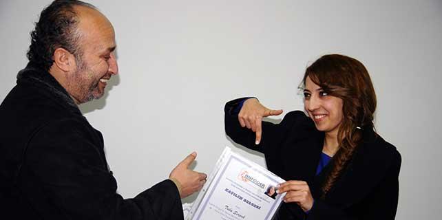 ANFODER'de 17. dönem sertifika töreni düzenlendi