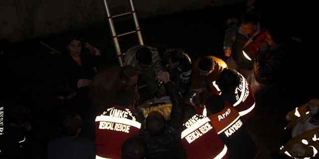 Askeri ambulans kanala düştü: 1 şehit, 7 yaralı
