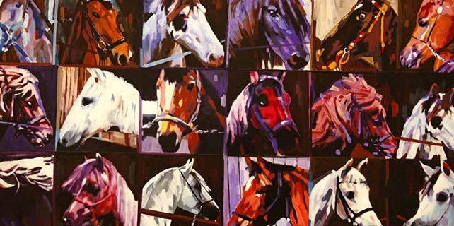 """""""At, At Sevgisi Ve At Yarışı"""" sergisi"""
