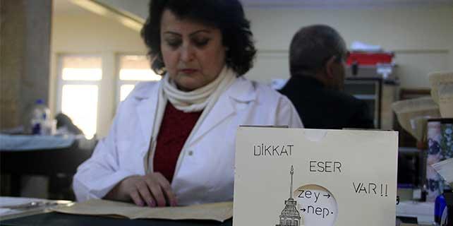 """Azeri kursiyerlere """"yazma eserleri koruma"""" eğitimi"""