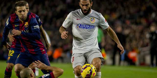 Barcelona, Aletico Madrid'i 3-1 yendi