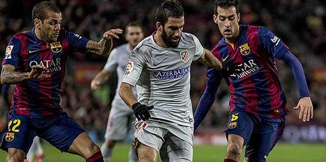 Barcelona Atletico'yu yıktı