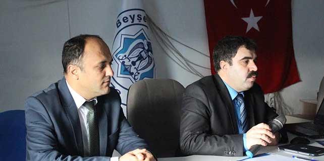 Beyşehir'de çevre düzenleme planı bilgilendirme toplantısı