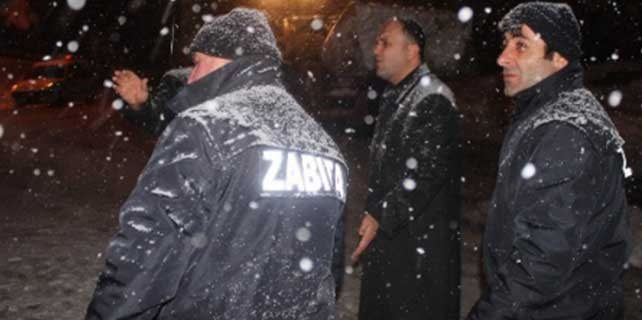Beyşehir'de karla mücadele çalışmaları Sürüyor