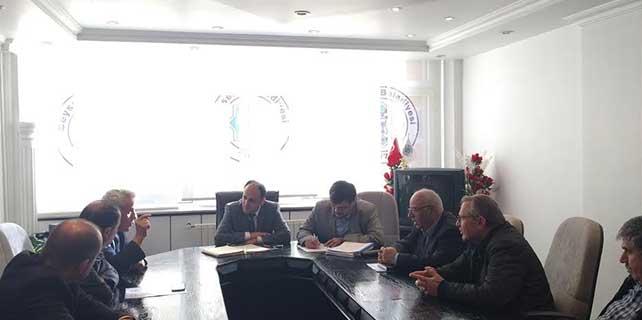 Beyşehir'de Tarım ve Hayvancılık Komisyonu toplandı