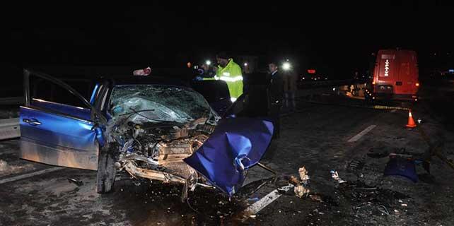Bolu'da trafik kazası: 2 ölü, 2 yaralı