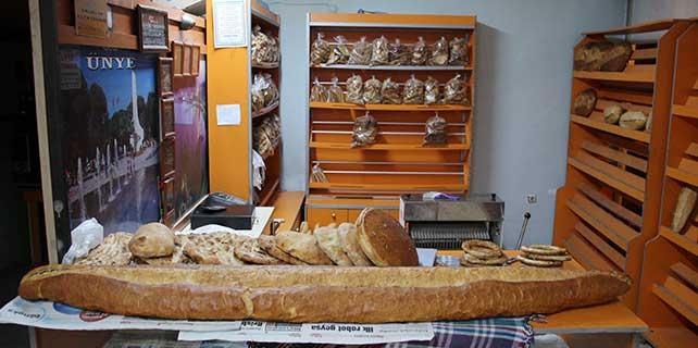 Boyundan uzun ekmek yaptı