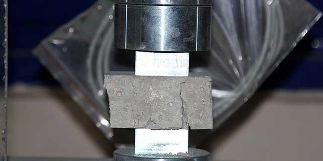 Çimentosuz beton üretildi