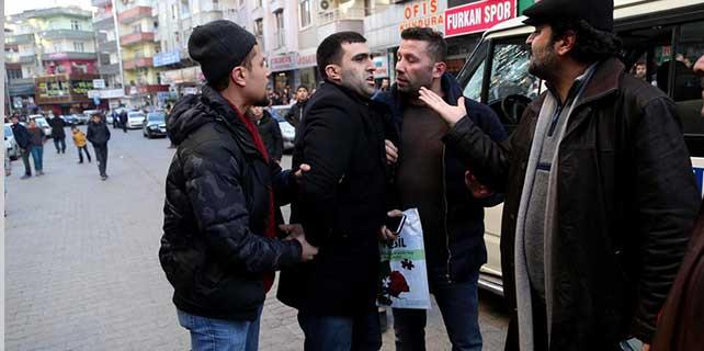 Diyarbakır'da kavga