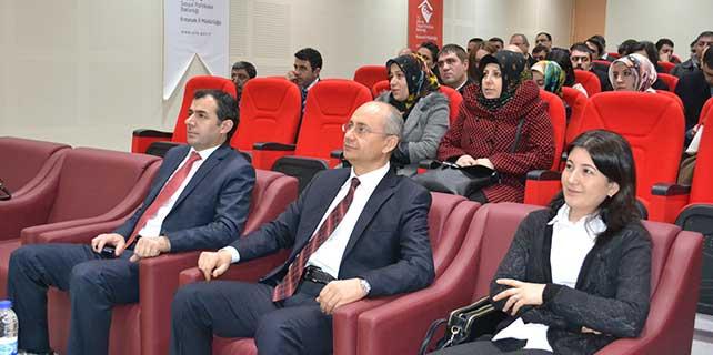 Erzurum'da 'öfke kontrolü' semineri