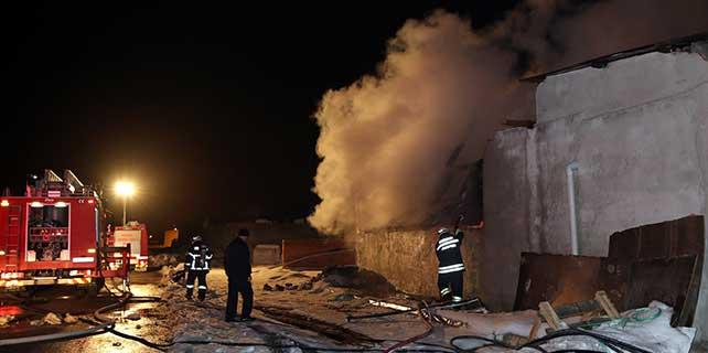Eskişehir'de yangın