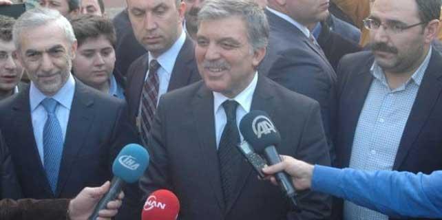 Gül'e 4 eski bakanla ilgili karar soruldu
