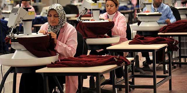 Güneydoğu'dan tekstil ihracatı arttı