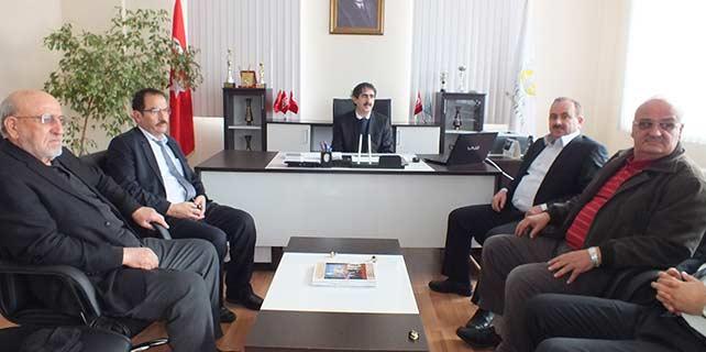Hadim Belediye Başkanı Hadimioğlu'ndan Çelik'e ziyaret