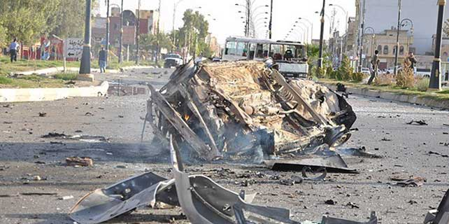 Irak'ta intihar saldırısı: 9 ölü 14 yaralı