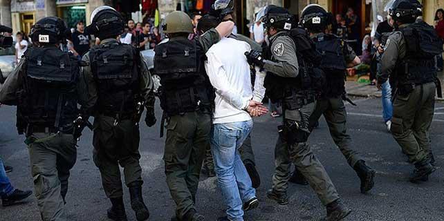 İsrail askerleri 4 Filistinliyi gözaltına aldı