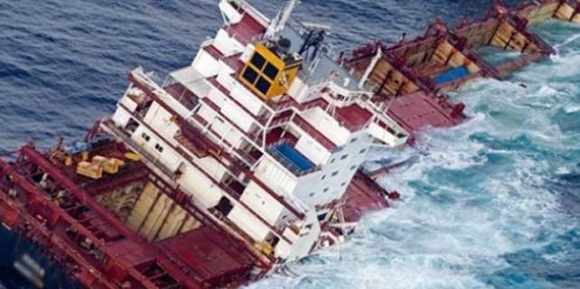 İtalya açıklarında batan Türk yük gemisi