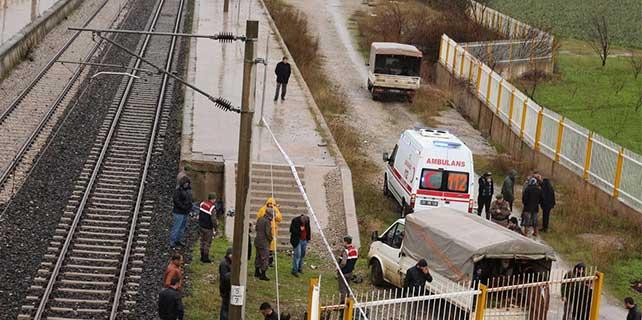 İZBAN hattında kaza: 1 ölü