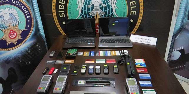 İzmir'de kredi kartı dolandırıcılığı iddiası