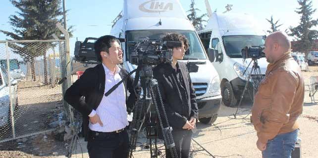 Japon medyası bu ilde üs kurdu