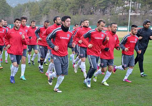 Kardemir Karabükspor'da Kayseri Erciyesspor maçı hazırlıkları