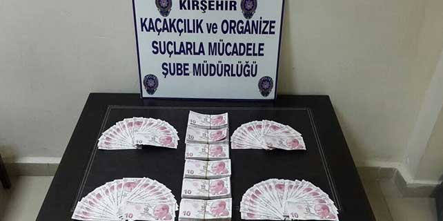 Kırşehir'de sahte para operasyonu