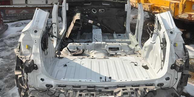 Konya'da araçları parçalayıp satmışlar