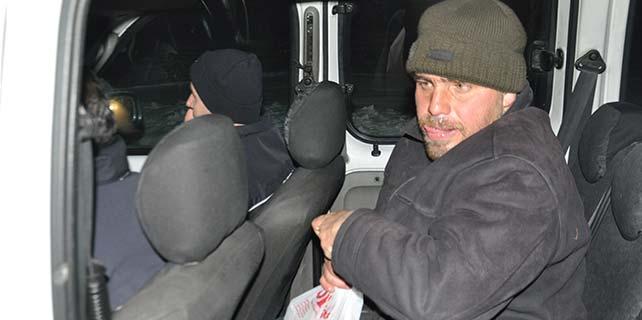 Konya'da engelli kişi donmaktan kurtuldu