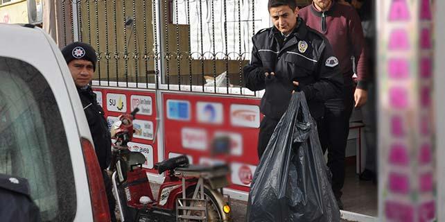 Konya'da kaçak telefon operasyonu