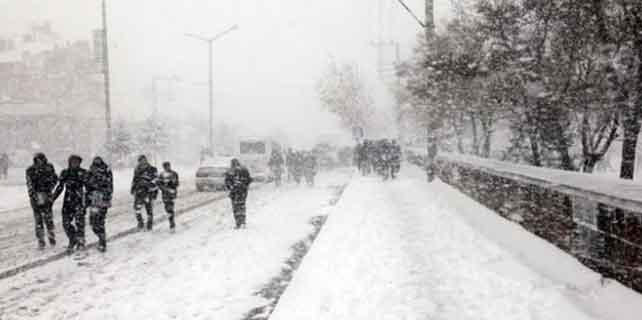 Konya'da kar tatili uzatıldı