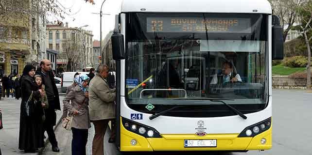Konya'da otobüs ve tramvayda taşınan yolcu sayısı