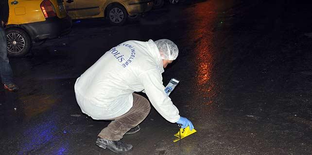 Konya'da, otopark görevlisi vuruldu