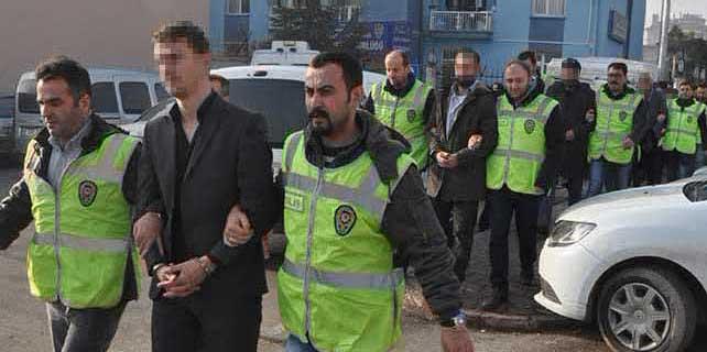 Konya'daki hırsızlık ve dolandırıcılık operasyonu